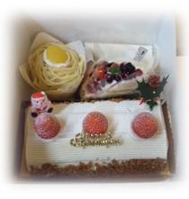 いただきものケーキ♪