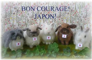 bon courage! JAPON!1