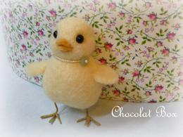 羊毛フェルト「ひよこ」blog