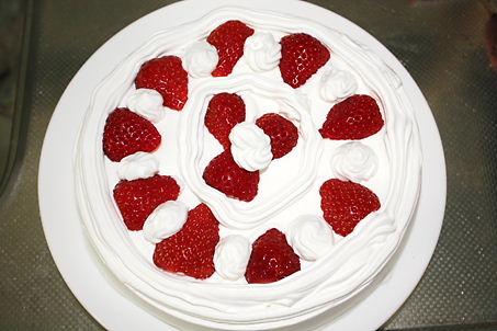 初・ケーキ