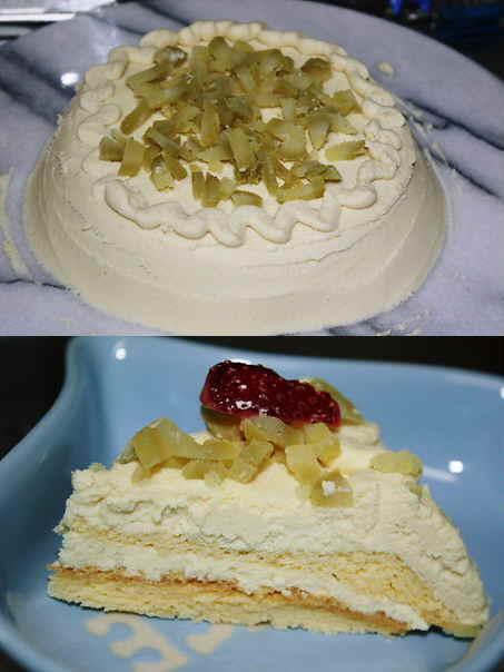 お芋のチーズケーキ