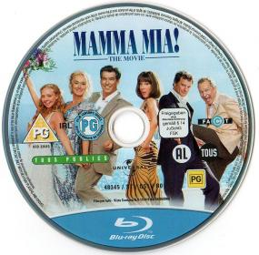 Blu-ray_MAMMA_MIA!_THE_MOVIE Disc