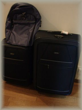 スーツケースセットとリュック