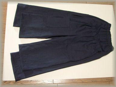紺のズボン2枚