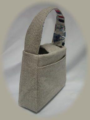 バッグ柄のミニバッグー4