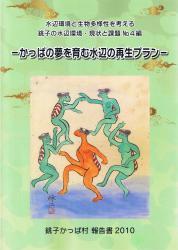 報告所『銚子の水辺環境・現状と課題』No.4表紙