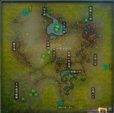 フカイ桃木MAP