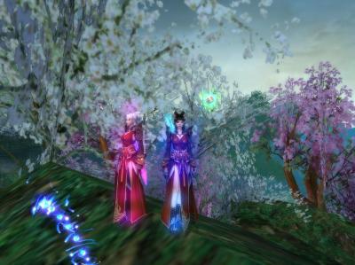 フカイ桜の小道