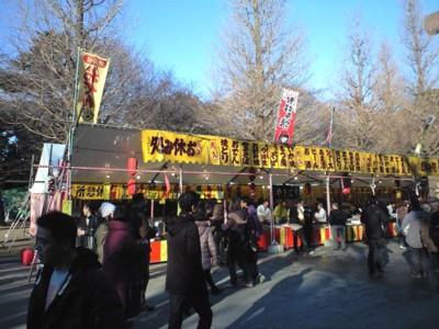 2010初詣靖国神社3