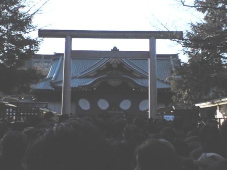 2010初詣靖国神社1