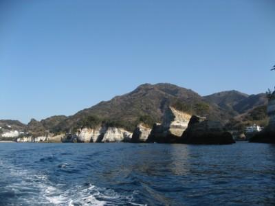 堂ヶ島 海上より1