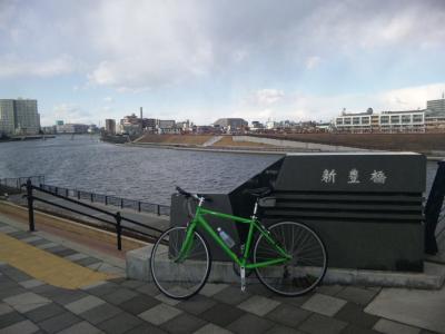 新豊橋上流
