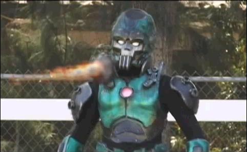 宿敵の対決 メタルマン
