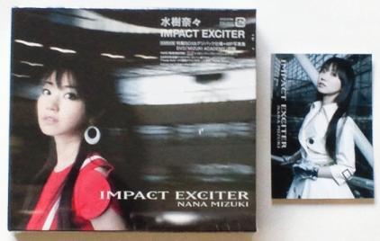 IMPACT EXCITER 外ケース表&カード