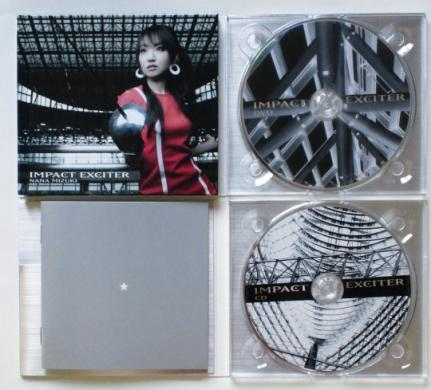 IMPACT EXCITER CD+DVDレーベル