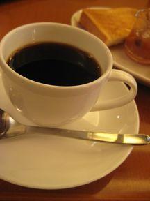 上島珈琲店で朝食