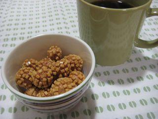 『松かさ』とコーヒー