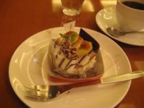 上島珈琲店でケーキ&コーヒー