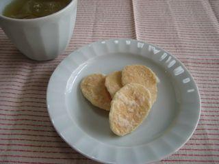加賀棒茶と生姜せんべい