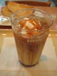 ドトールコーヒーにて。