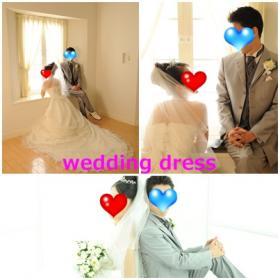 wedding dress at