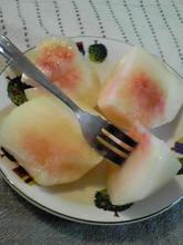清水白桃 カット