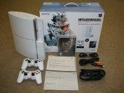PlayStation3 40GB メタルギア ソリッド 4 ガンズ・オブ・ザ・パトリオット WELCOME BOX with DUALSHOCK 3 セラミック・ホワイト