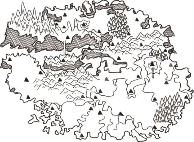 アルキュ島MAP①
