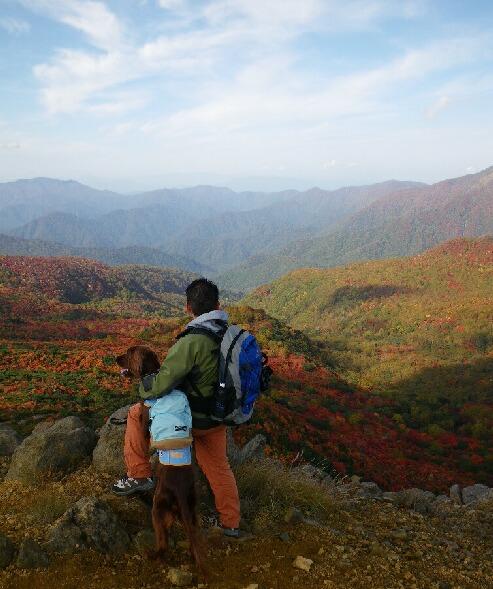 ママさん那須岳初登頂(紅葉10.10)2 02200