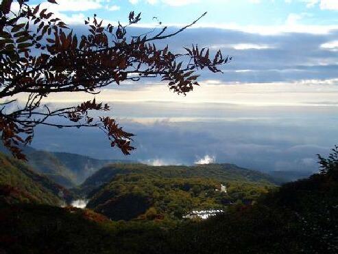 茶臼岳 下見