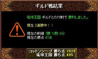 11/26 琉球王国 さん 結果
