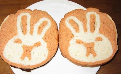 うさぎパン 3