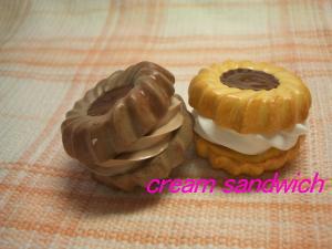チョコレートクリームサンドイッチ