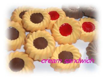 菊型クッキー1