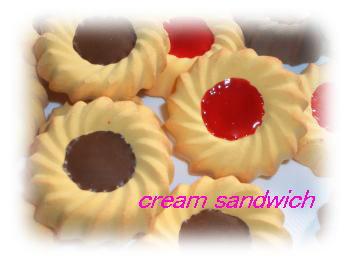 菊型クッキー2