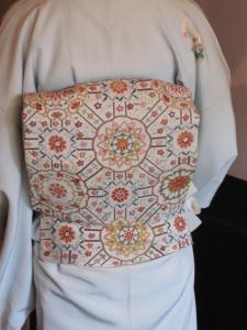 相良刺繍のすばらしい帯