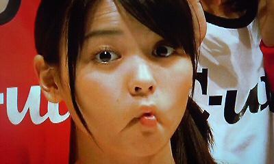 舞美ちゃんの変顔?