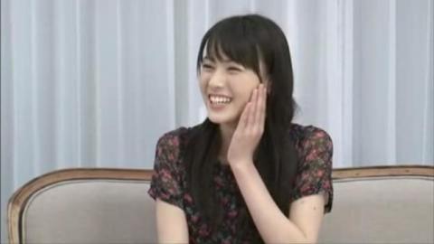 ゲストは矢島舞美さん(まもなく17歳)