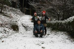 雪の中のコンサート