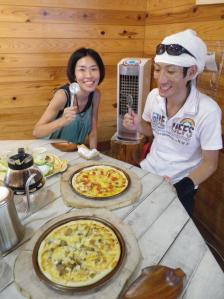 石窯ピザ&焙煎珈琲♪