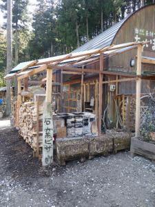 石窯小屋♪