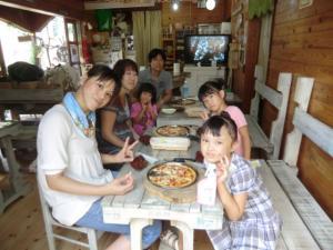 0815石窯ピザ