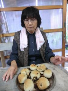 1106レーズンくるみパン
