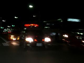 京都府警パトカー