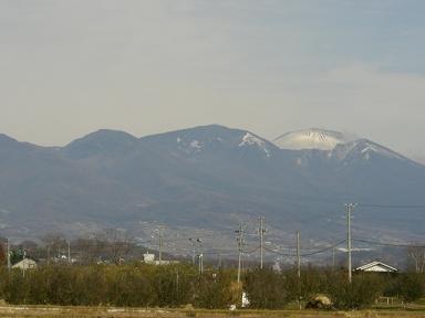 浅間山遠景