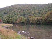 三瓶山火口池