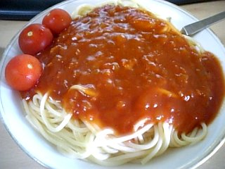 料理 2010年5月22日更新 ミートスパゲティ