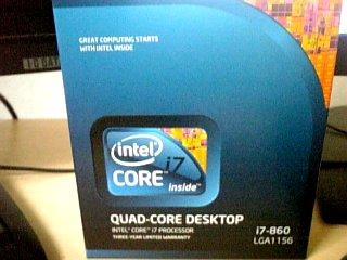 PC関係 [intel] Core i7 860