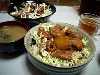 料理 2010年7月3日更新 てりやき丼 by彼女さん
