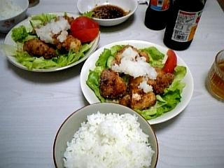 食べ物 7月11日更新 鶏肉の竜田揚げ